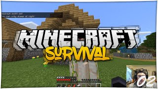 NEW VILLAGE | MINECRAFT SURVIVAL | 002