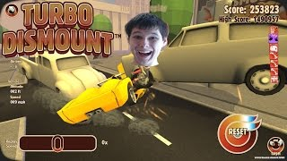 - У НЕГО ГОЛОВУ СОРВАЛО Крышесносные игры Turbo Dismount