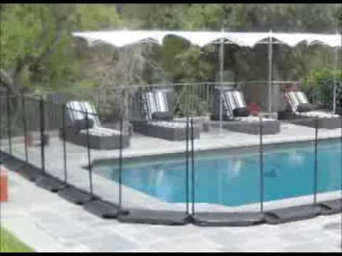 guardian pool fence. No Holes Pool Fence From Guardian Systems E