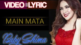Cover images Baby Shima - Main Mata (Official Video Lyrics) #lirik