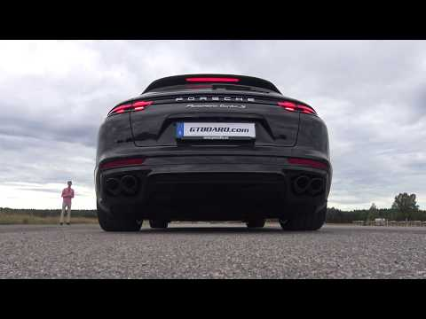 LAUNCH 680 HP Porsche Panamera Turbo S Sport Turismo, THE SOUND!
