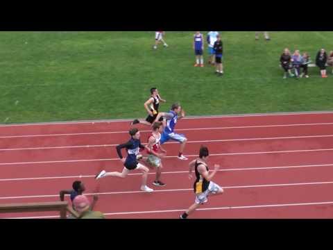 2017 Chittenden County Track Championships  -  Boys 100m