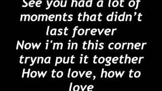 How To Love - Demi Lovato lyrics HD