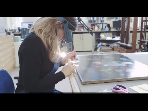Conservation Flowers In A Glass Vase Painting Youtube