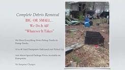 Junk Removal Services Charleston | Debris Removal Services Charleston  | Trash Removal Near Me