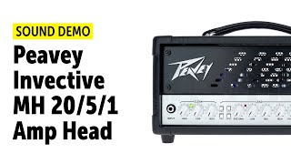 Peavey Invective MH - Sound Demo (no talking)