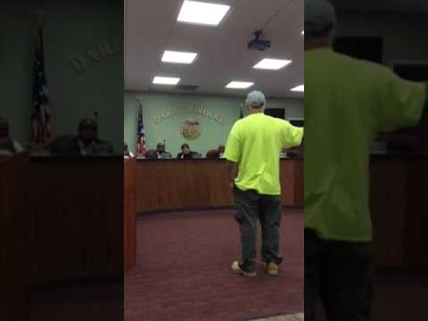 Darby Council Meeting April19,2017 Resident Scott Simpson