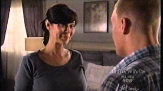 Catherine Bell pregnant Belly