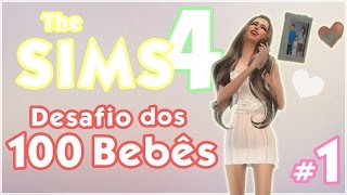 Desafio dos 100 Bebês #1 ♥ The Sims 4 | Gameplay Lalaland