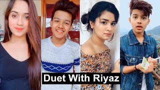 Riyaz Duets Musically Video With Avneet, Jannat and Cute Girls | Best Duets Tiktok Musically