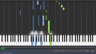 Valse de l'adieu op.69 n°1 - Chopin [50% speed] - Synthesia