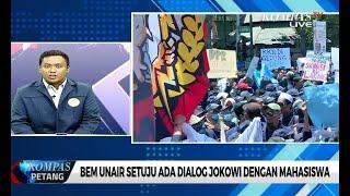 Ketua BEM Unair Setuju Dialog dengan Jokowi Terbuka