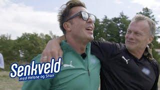 Jan Thomas overrasker i ellevill stafett (Camp Senkveld 2018)