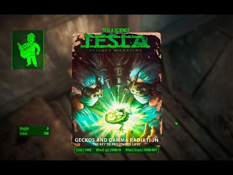 Tesla Science Magazine - University Point - Fallout 4