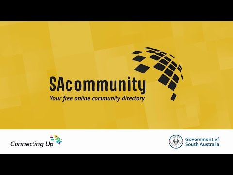 SAcommunity Directory of Community Services