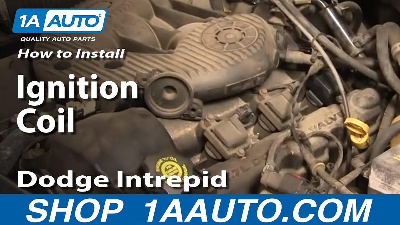 how to replace ignition coil 98-04 dodge intrepid