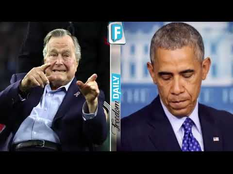 Former President George Bush Just Broke A Shocking Record That No President Has Ever Accomplished Be