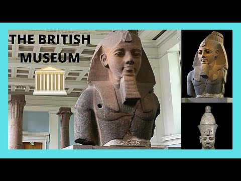 LONDON: the fascinating EGYPTIAN SCULPTURES at the BRITISH MUSEUM