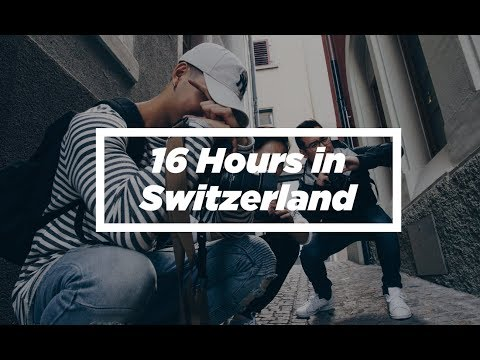 Travel Switzerland | Sony A6500 Slow Motion Video | GoPro Hero 5 Session