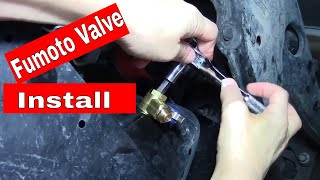 FUMOTO Oil Drain Valve Install --- How to and Review