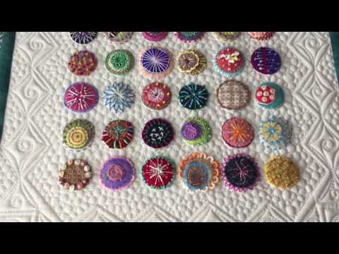 Wool Penny & Confetti Embroidery Projects By Charisma