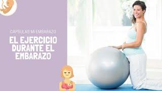 El ejercicio en el embarazo | Cápsulas Mi Embarazo