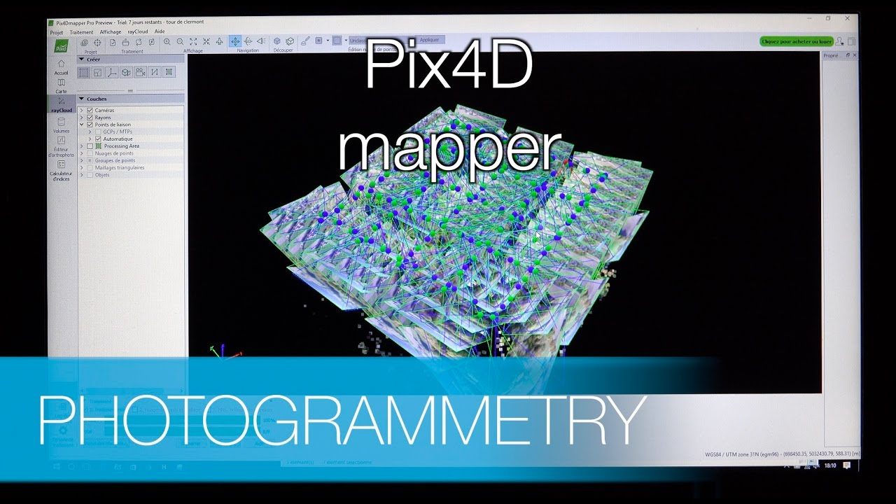 Creation of the 3D model with Pix4D - photogrammetry (part 2)