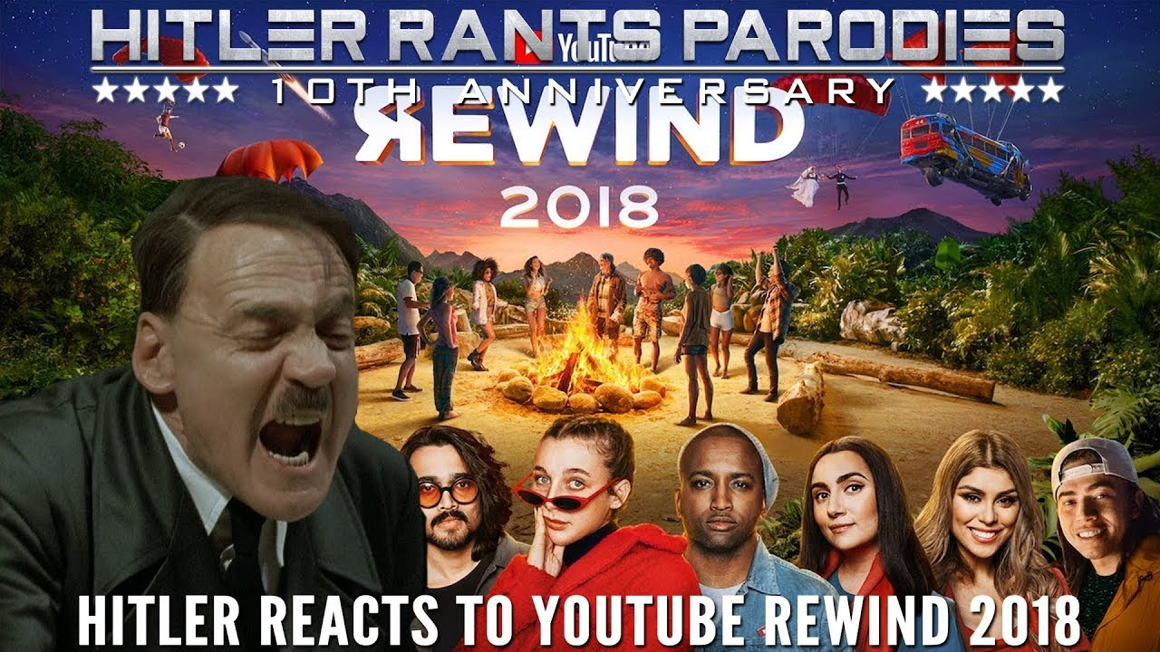 Hitler reacts to YouTube Rewind 2018: Everyone Controls Rewind