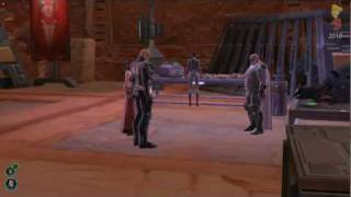 Star Wars The Old Republic E3 2010 Sith Warrior Sith and Inquisitor quest gameplay swtor e3 2010