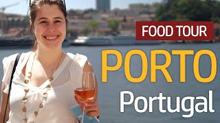 Discovering TRADITIONAL PORTUGUESE FOOD   Food Tour in Porto, Portugal