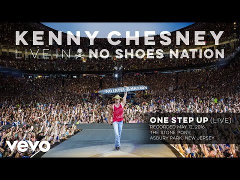 Kenny Chesney - One Step Up (Live) (Audio)