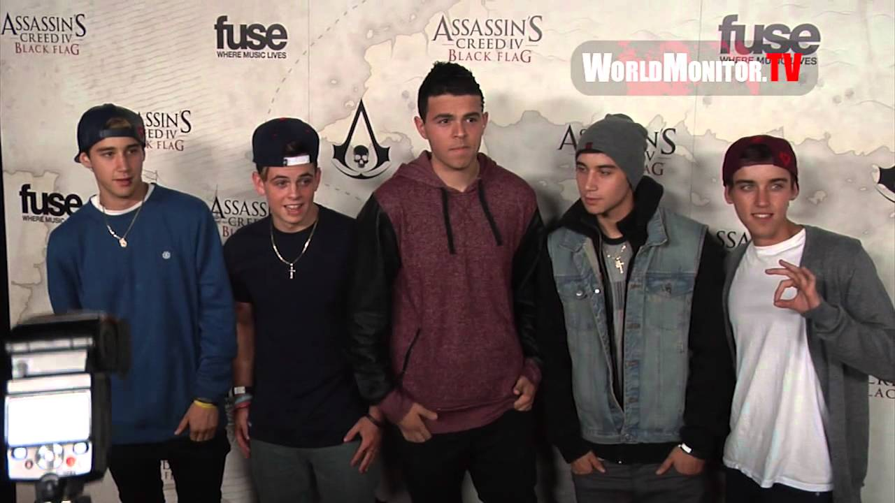 'The Janoskians' arrive at Assasin's Creed IV Black Flag Launch Party