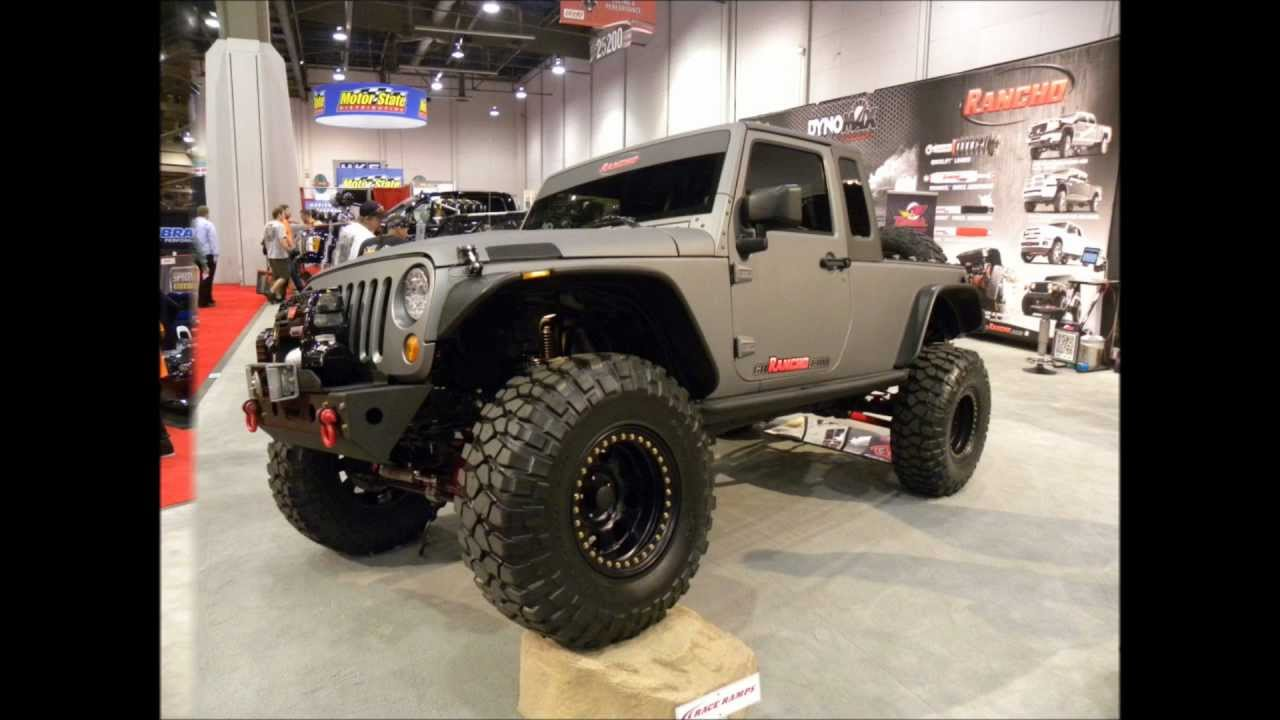 """BRUTE"" Jeep Wrangler truck - YouTube"