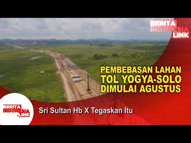 Tol Yogyakarta- Solo Segera Dimulai