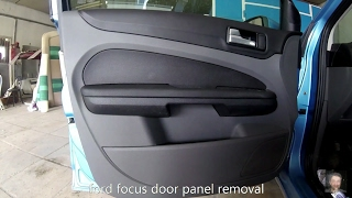 Ford Focus (2004–2011) door panel removal