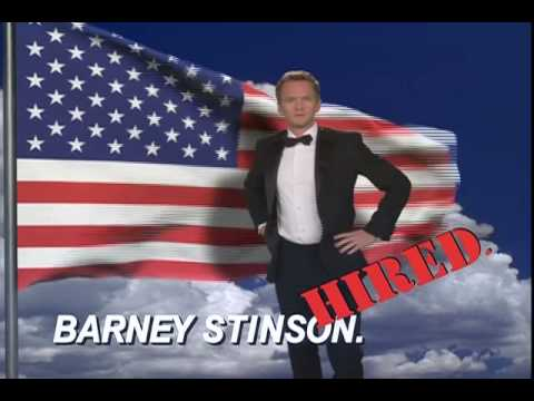Barney Stinson's video resume