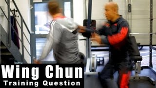 Wing Chun training - wing chun why is your foot work different? Q25