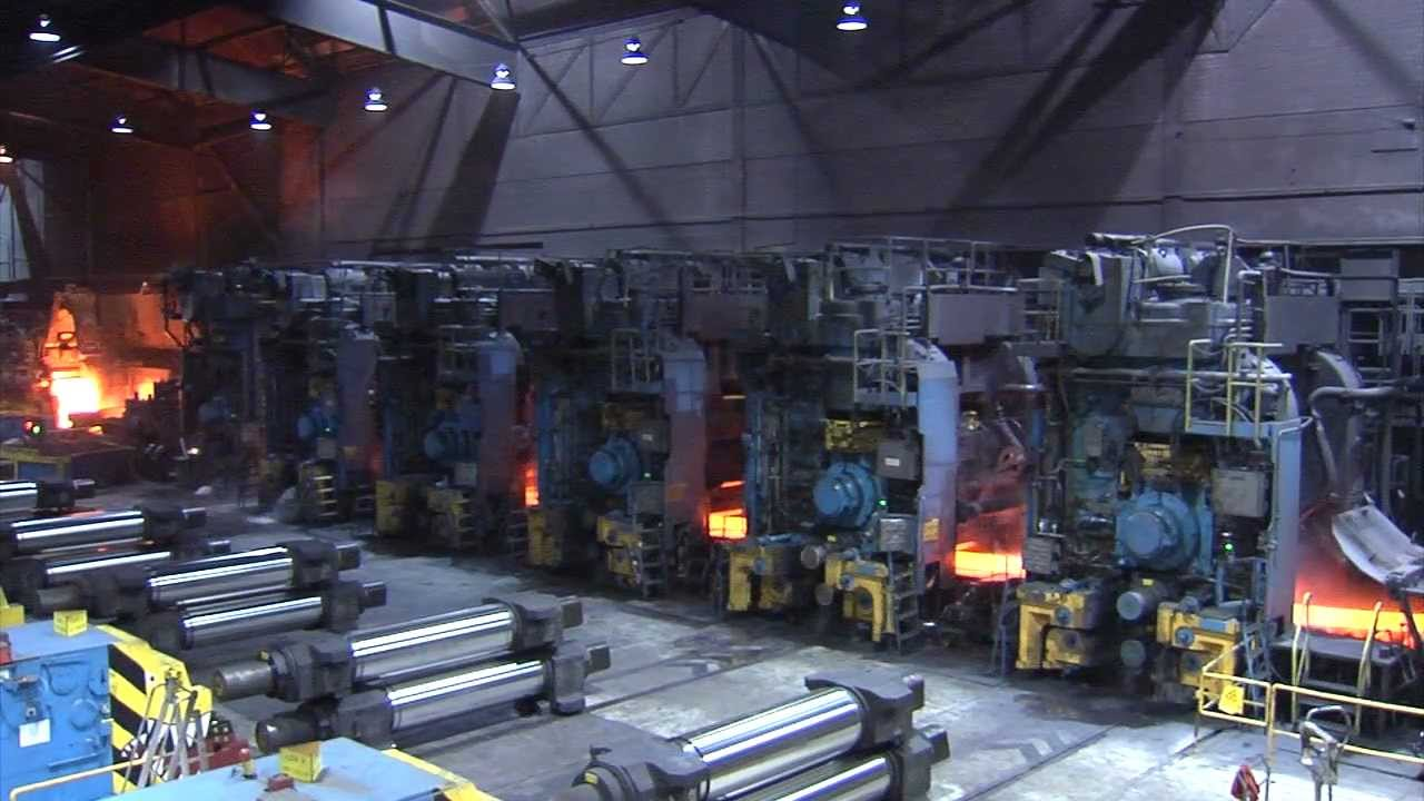 Hot Rolling Mill Youtube