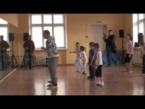 Открытый урок в стиле хип-хоп от Дениса Дмитриева