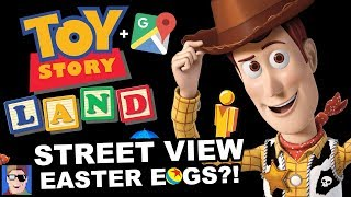 Toy Story Land's CRAZY Google Maps Easter Egg Game
