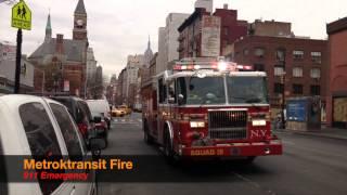 FDNY & North Jersey Fire Trucks 2014