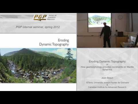 Lecture - Eroding Dynamic Topography