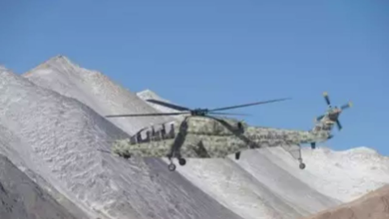 Amidst border row with China, India tests its new light combat helicopters in Ladakh