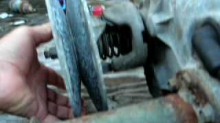 g8 golf cart rear end clutch