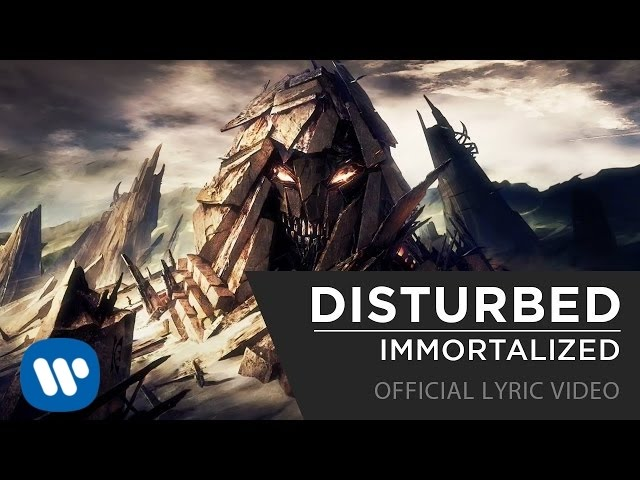 Disturbed - Immortalized [Official Lyrics Video]