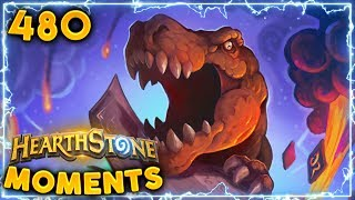 Dino Dino Coming For Your Bootyrino | Hearthstone Daily Moments Ep. 480