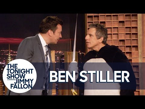 """Ben Stiller """"Surprises"""" Jimmy by Dressing Up as Hashtag for Tonight Show's Fifth Anniversary"""