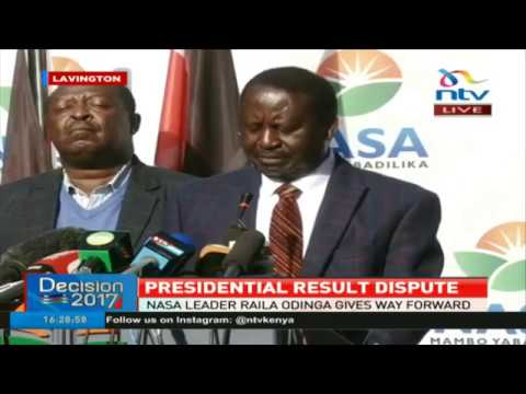 Nasa's major announcement on the disputed presidential election results - FULL Presser
