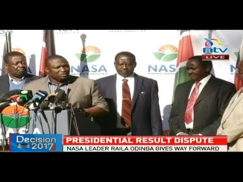 Nasa's major announcement on the disputed presidential election's results - FULL Presser
