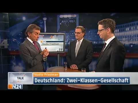 Studio Friedman: Zwei Klassen Gesellschaft (Sendung vom 06.12.2012)
